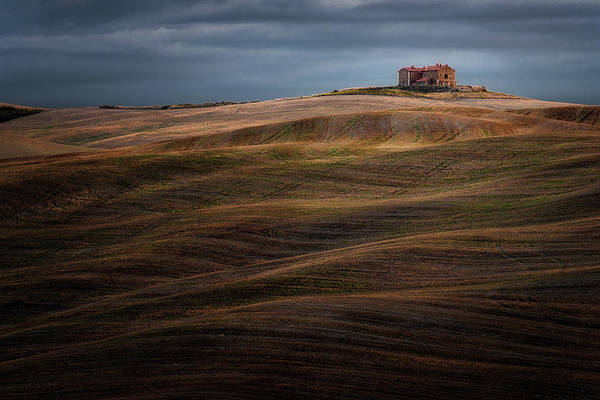 Farmhouse Photograph - Autumnal Tune by Marek Boguszak