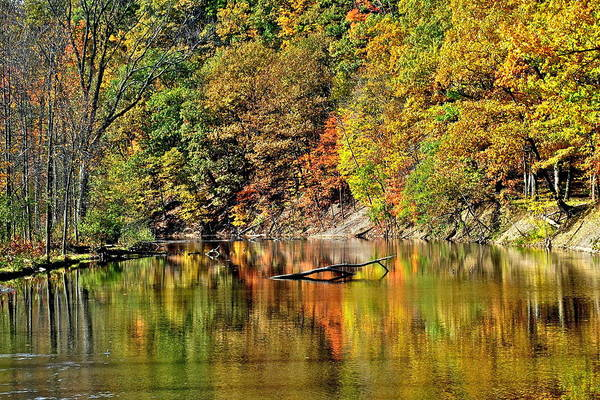 Paisaje Photograph - Autumns Glow by Frozen in Time Fine Art Photography