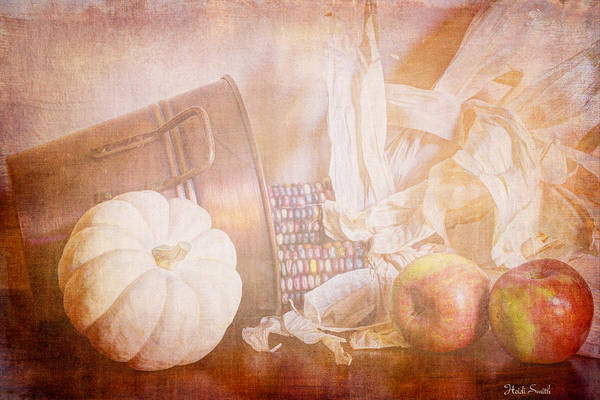 Wall Art - Photograph - Autumn's Yield by Heidi Smith