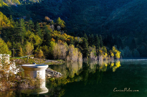 Photograph - Autunno Alba Sul Lago - Autumn Lake Dawn 9652 by Enrico Pelos