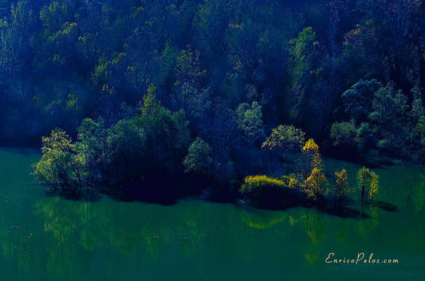 Photograph - Autunno Alba Sul Lago - Autumn Lake Dawn 9746 by Enrico Pelos