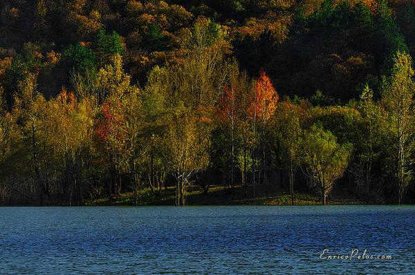 Photograph - Autunno Alba Sul Lago - Autumn Lake Dawn 9897 by Enrico Pelos
