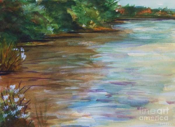 Upstate New York Painting - Aututmn On South Lake Haines Falls Ny by Ellen Levinson