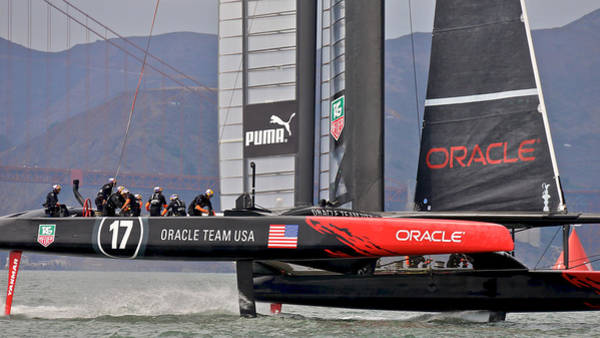 Photograph - Team Oracle by Steven Lapkin