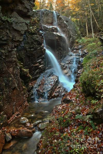 Photograph - Avalanche Cascades At Franconia Notch by Adam Jewell