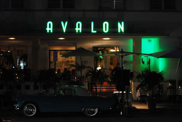 Avalon Hotel Art Print