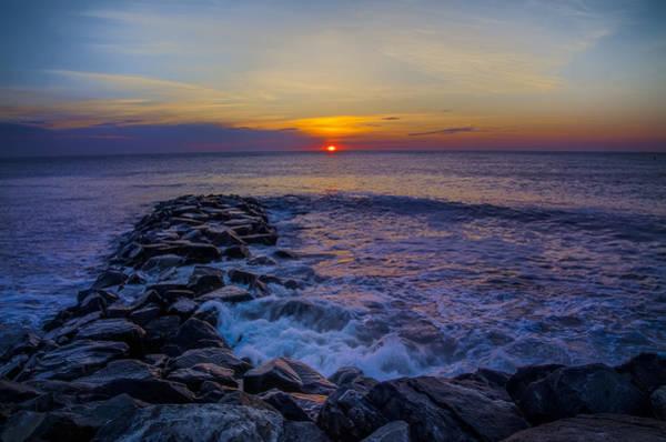 Jetti Wall Art - Photograph - Avalon New Jersey Sunrise by Bill Cannon
