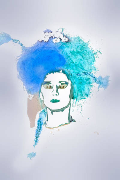 Photograph - Avant Garde Bleu by Melinda Ledsome