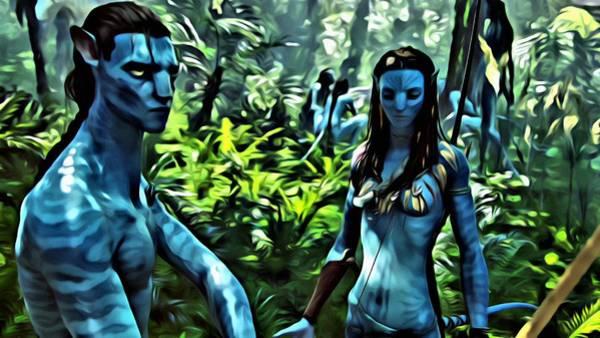 Painting - Avatar by Florian Rodarte