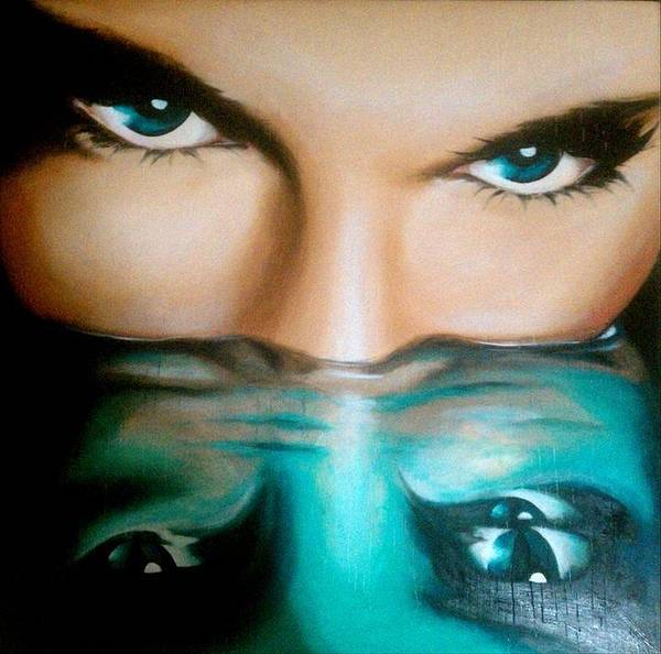 Painting - Avatar by Robyn Chance
