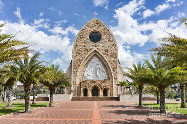 Wall Art - Photograph - Ave Maria Oratory Church In Ave Maria Fl by William Kuta