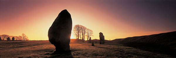Druid Wall Art - Photograph - Avebury Wiltshire England by Panoramic Images