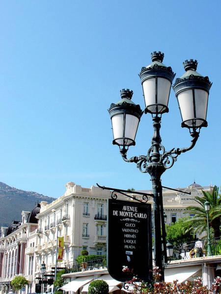 Photograph - Avenue De Monte Carlo by Julie Palencia