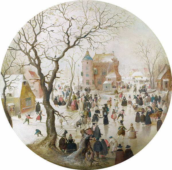 Wall Art - Painting - Avercamp Winter Scene by Granger