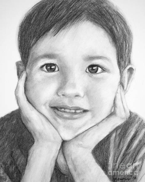 Drawing - Avery In Charcoal by Kate Sumners