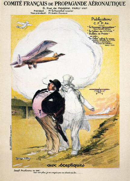 Photograph - Aviation Poster, 1928 by Granger