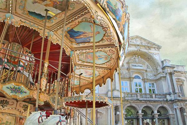 Avignon Carousel Art Print