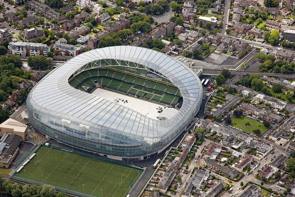 Dun Photograph - Aviva Stadium, Dún Laoghaire by Colin Bailie