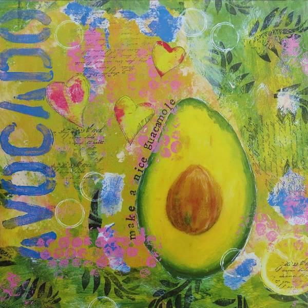 Avocado Mixed Media - Avocado by Madeleine De Kemp