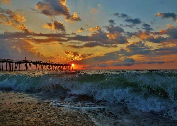 Outer Banks Wall Art - Photograph - Mother Natures Awakening  3 7/26 by Mark Lemmon