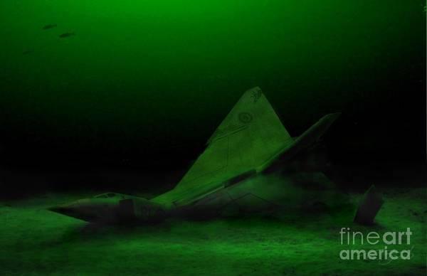 Interceptor Photograph - Avro Arrow In Lake Ontario by Tom Straub
