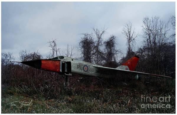 Interceptor Photograph - Avro Arrow In The Cove by Tom Straub
