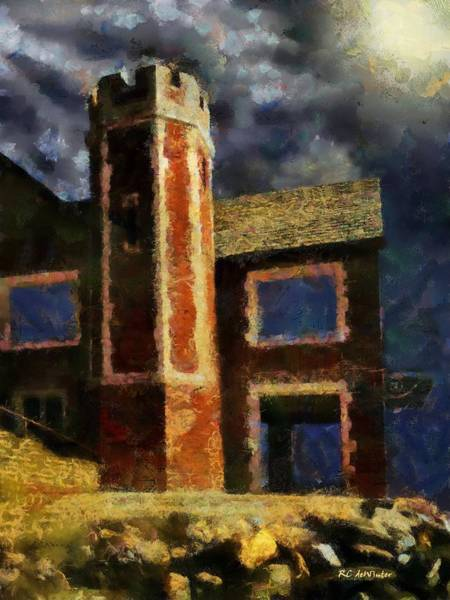 Painting - Awaiting The Tempest by RC DeWinter