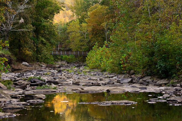 Fayetteville Photograph - Away From It All - Devils Den State Park by Gregory Ballos