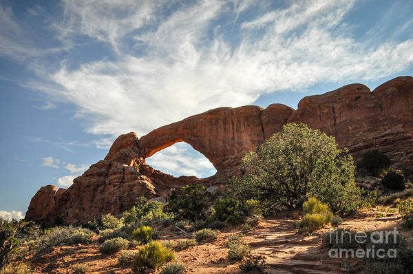 Photograph - Awesome Arch by Cheryl McClure