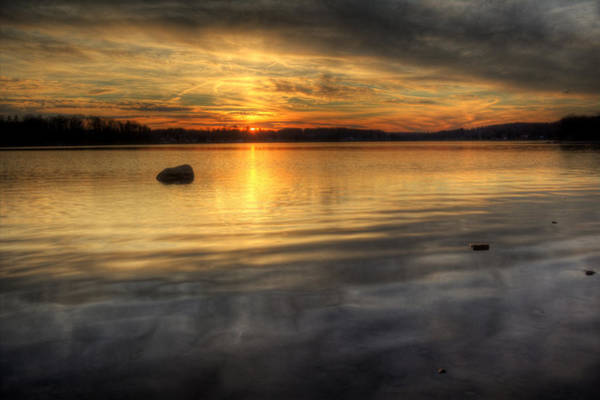 Photograph - Awesome Sunset by David Dufresne