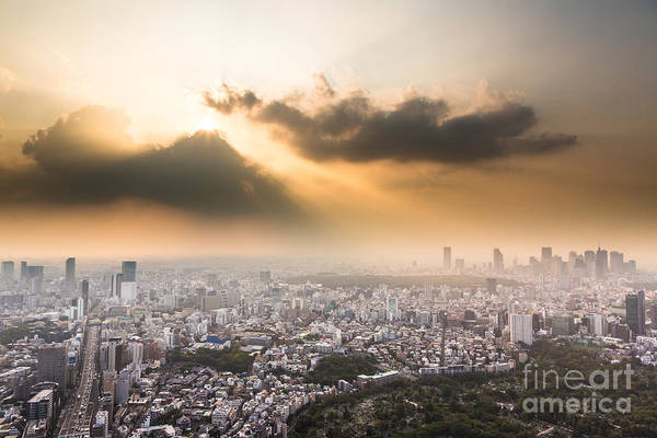 Photograph - Awesome Tokyo Sunset by Didier Marti