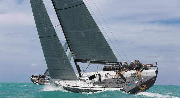 Photograph - Awesome Upwind by Steven Lapkin