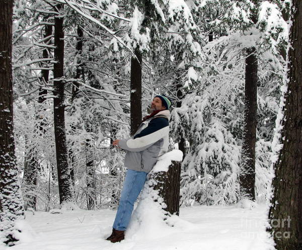 Photograph - Awestruck By The Beauty Of Snow by Rose Santuci-Sofranko