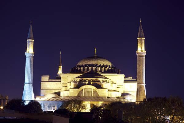 Photograph - Aya Sophia In Istanbul Turkey by Raimond Klavins