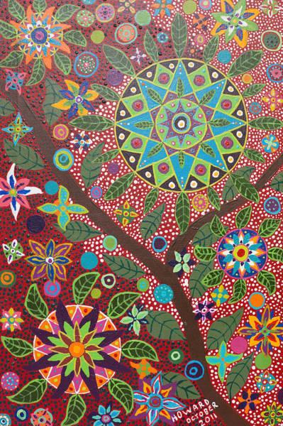 Shaman Wall Art - Painting - Ayahuasca Vision by Howard Charing