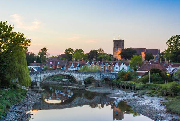 Medway Wall Art - Photograph - Aylesford Village by Ian Hufton