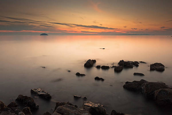 Photograph - Ayrshire Coast Sunset by Grant Glendinning