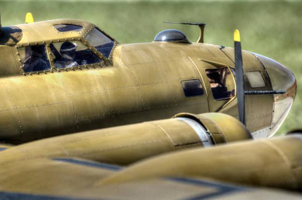 Photograph - B-17 by David Hart