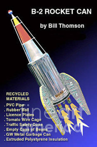 Photograph - B-2 Rocket Can by Bill Thomson