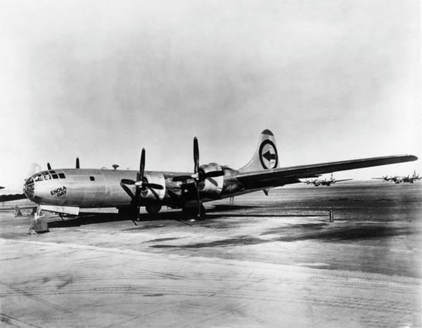 Nuclear Bomber Wall Art - Photograph - B-29 Enola Gay by Los Alamos National Laboratory/science Photo Library