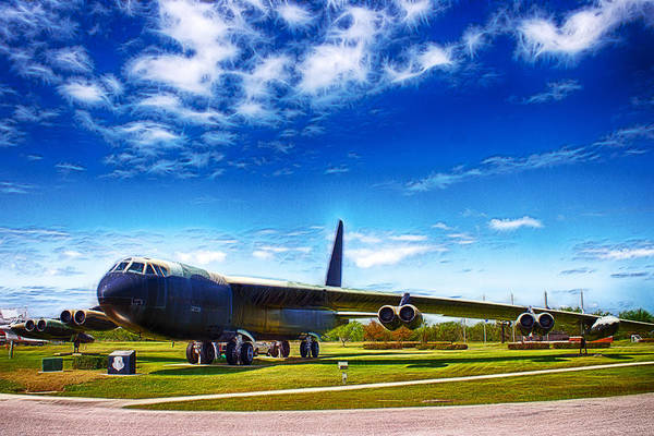 Photograph - B-52 Bomber by Barry Jones