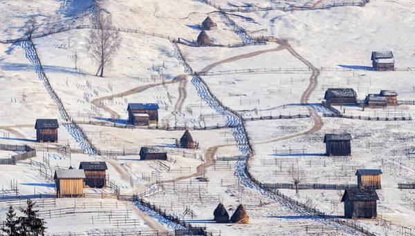 Farm Landscape Photograph - B U C O V I N A by Sveduneac Dorin Lucian