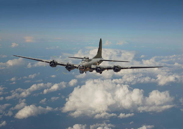 Flying Fortress Photograph - B17- 8th Air Force Workhorse by Pat Speirs