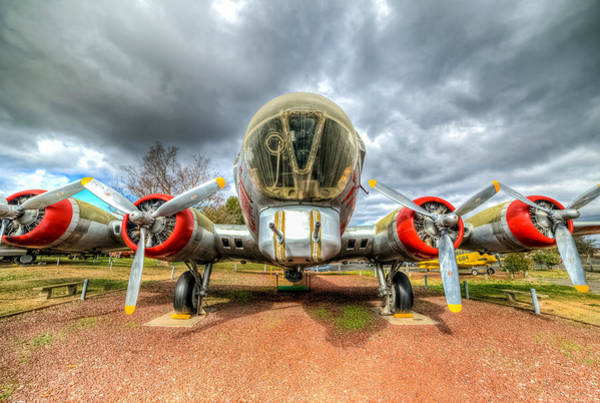 Photograph - B17 by Mike Ronnebeck
