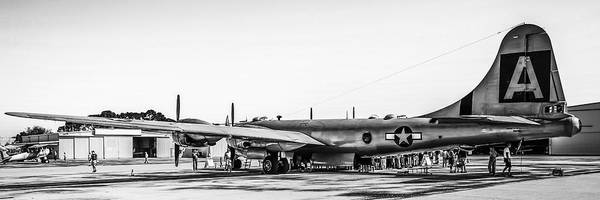 B29 Photograph - B29 In Black And White by Chris Smith