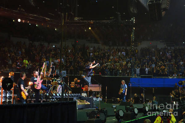 Pearl Jam Photograph - Baba O'riley by Linda De La Rosa
