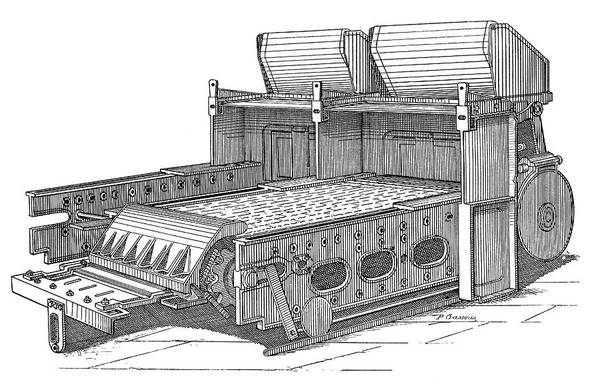 Babcock Photograph - Babcock And Wilcox Boiler by Science Photo Library