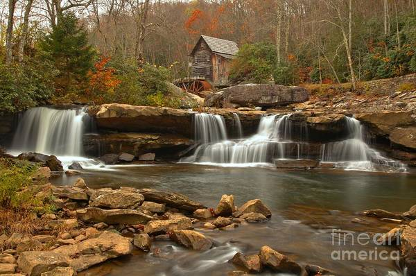 Photograph - Babcock State Park Landscape by Adam Jewell