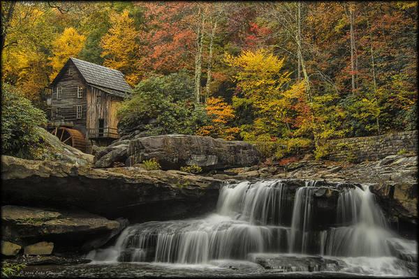 Photograph - Babock Fall Foliage by Erika Fawcett