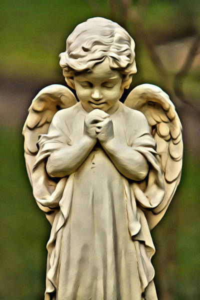 Photograph - Baby Angel by Alice Gipson